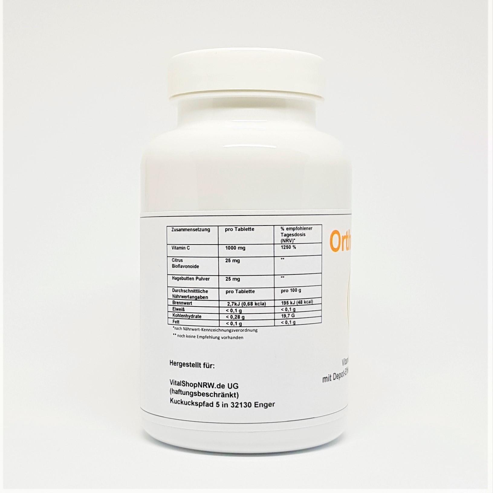 Obv Vitamin C 1000 Vitalshopnrw Vit Wp 100gram