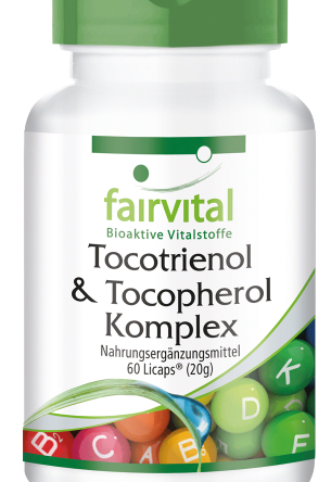 Tocotrienol-Tocopherol Komplex – 60 Licaps®